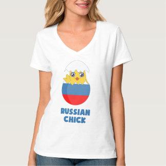 Polluelo ruso, chica de Rusia Camisas