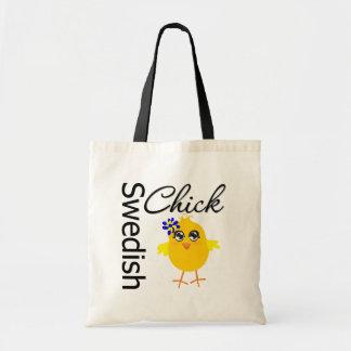 Polluelo sueco bolsa tela barata