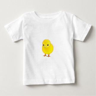 Polluelo T-Camisa-Animal-Amarillo del bebé del Playera De Bebé