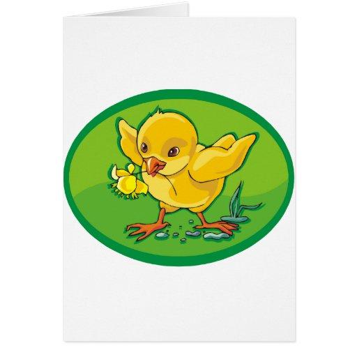 Polluelo Tarjeta De Felicitación