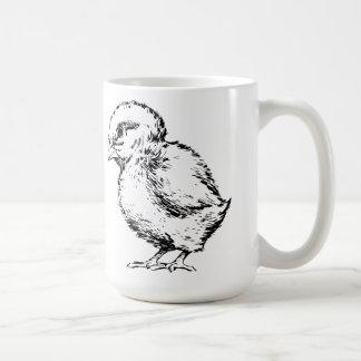 Polluelo Taza De Café