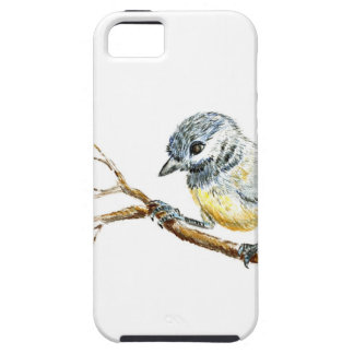 Polluelo-uno-Dee capsulado negro del invierno, láp iPhone 5 Case-Mate Coberturas
