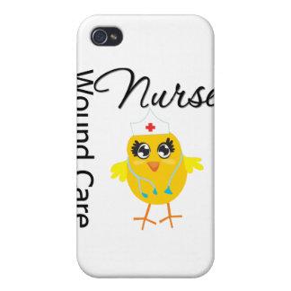 Polluelo v1 de la enfermera del cuidado de la heri iPhone 4 funda