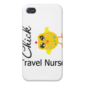 Polluelo v1 de la enfermera del viaje iPhone 4 coberturas