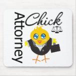 Polluelo v3 del abogado tapetes de ratones