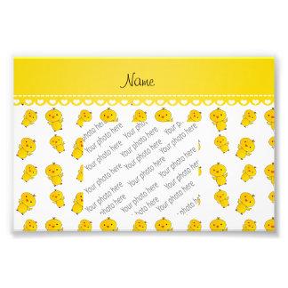 Polluelos amarillos blancos conocidos fotografía
