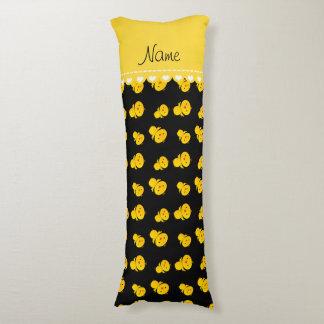 Polluelos amarillos negros conocidos cojin cama