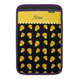 Polluelos amarillos negros conocidos funda macbook air