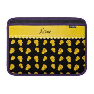Polluelos amarillos negros conocidos fundas macbook air