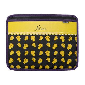Polluelos amarillos negros conocidos fundas para macbook air