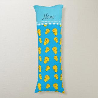 Polluelos conocidos personalizados del amarillo cojin cama
