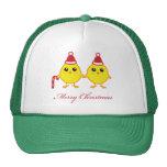 Polluelos del navidad gorra