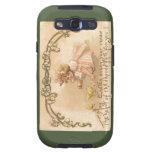 Polluelos del vestido del rosa del chica de Pascua Samsung Galaxy S3 Protector