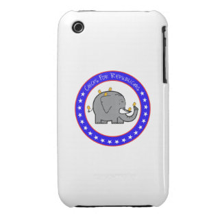 polluelos para el caso republicano Case-Mate iPhone 3 protector