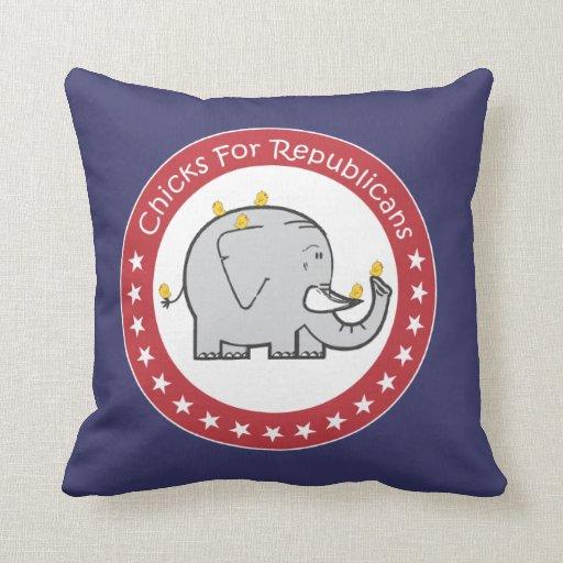 polluelos para la almohada de los republicanos