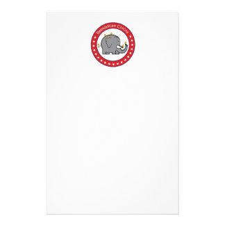 polluelos republicanos papelería personalizada