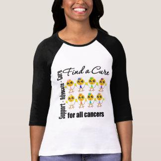 Polluelos unidos para encontrar una curación para camisas