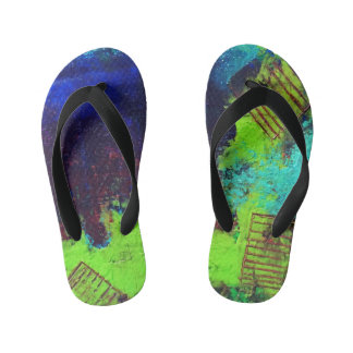 Polluted Flip Flops for kiddos
