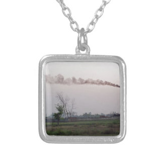 Pollution and global warming necklaces