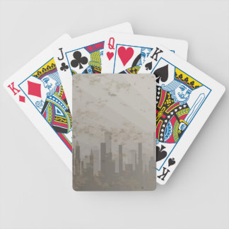 Pollution Bicycle Playing Cards
