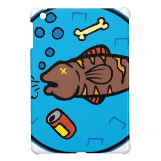 Pollution fish iPad mini cover