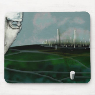 pollution mouse pad