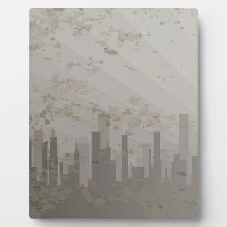Pollution Plaque