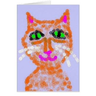 Polly Cat Card