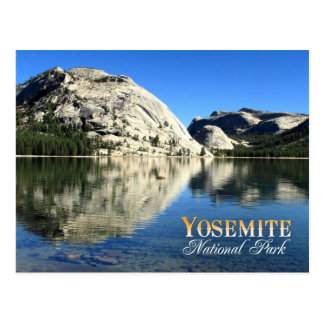 Polly Dome Reflection, Yosemite National Park Postcard
