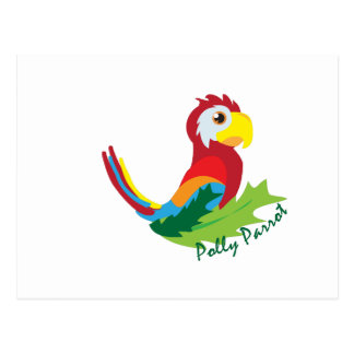 Polly Parrot Post Cards