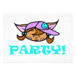 Polly/ PARTY! Gepersonaliseerde Uitnodigingen