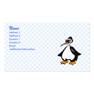 Polly Penguin Business Card