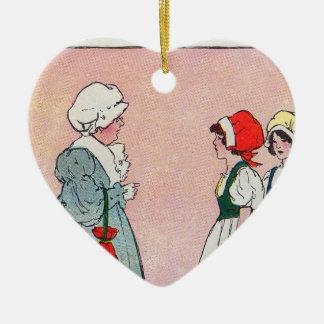 Polly, puso la caldera, Polly, puso la caldera Adorno De Cerámica En Forma De Corazón