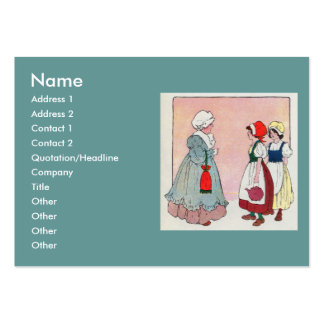Polly, put the kettle on, Polly, put the kettle on Large Business Cards (Pack Of 100)