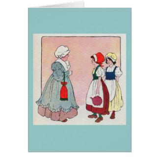 Polly, put the kettle on, Polly, put the kettle on Card