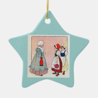 Polly, put the kettle on, Polly, put the kettle on Ceramic Ornament