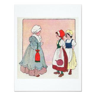 Polly, put the kettle on, Polly, put the kettle on 4.25x5.5 Paper Invitation Card