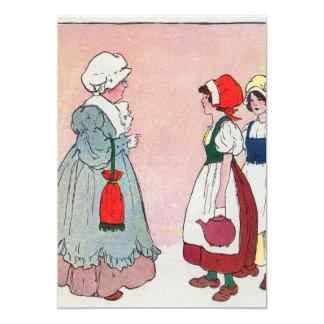 Polly, put the kettle on, Polly, put the kettle on 5x7 Paper Invitation Card