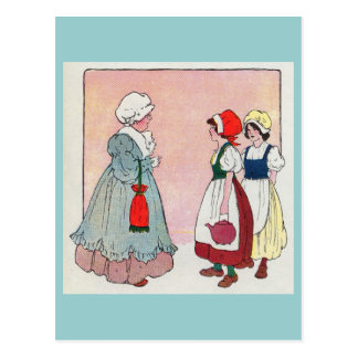 Polly, put the kettle on, Polly, put the kettle on Postcard