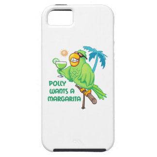 POLLY QUIERE A UNA MARGARITA iPhone 5 Case-Mate PROTECTOR
