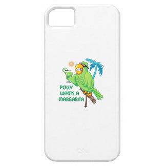 POLLY QUIERE A UNA MARGARITA iPhone 5 Case-Mate CARCASAS