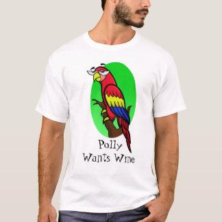 Polly quiere el vino playera