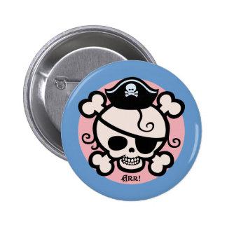Polly Roger Pinback Button