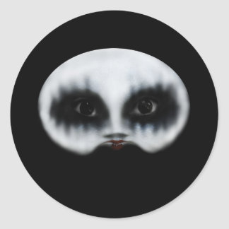 Polly Classic Round Sticker