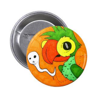 Polly talk badge pinback button
