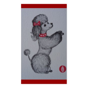 Polly the Poodle Business Card