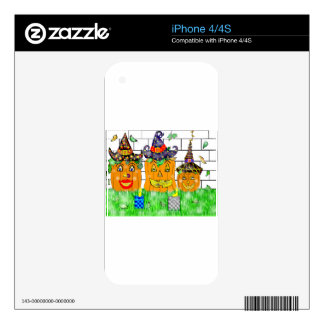 Polly Winkle Pumpkin Family iPhone 4S Skin