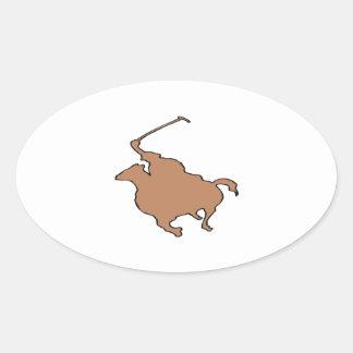 Polo 3 oval sticker