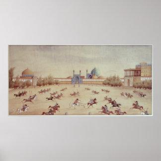 Polo at Isfahan Poster
