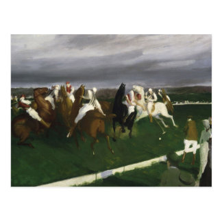 Polo at Lakewood - George Bellows Postcard